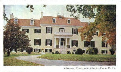 Claymont Court - Charles Town, West Virginia WV Postcard
