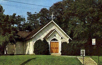 St. John Episcopal Church - Harpers Ferry, West Virginia WV Postcard