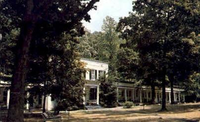 Capon Springs & Farms  - West Virginia WV Postcard