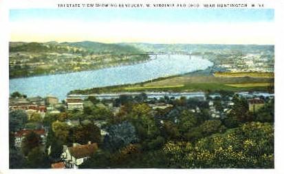 Tri-State - Parkersburg, West Virginia WV Postcard