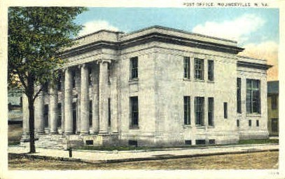 Post Office  - Moundsville, West Virginia WV Postcard