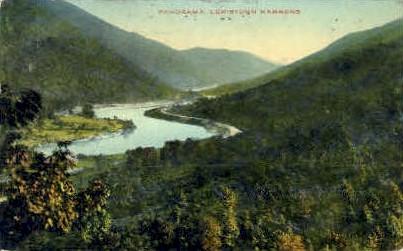 Lewistown Narrows - MIsc, West Virginia WV Postcard
