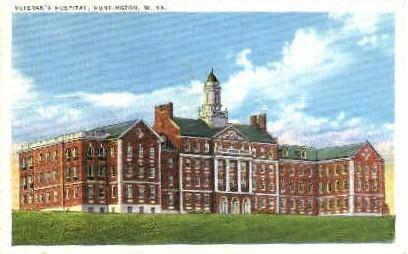 Veteran's Hospital - Huntington, West Virginia WV Postcard