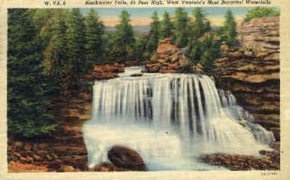 Blackwater Falls  - MIsc, West Virginia WV Postcard
