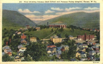 Potomac State School - Keyser, West Virginia WV Postcard