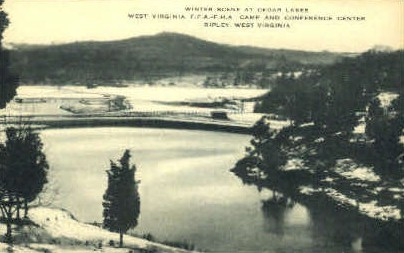Cedar Lakes  - Ripley, West Virginia WV Postcard