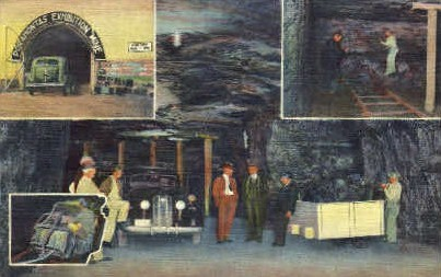 Exhibition Coal Mine - Bluefield, West Virginia WV Postcard