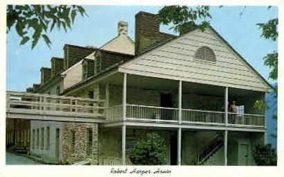 Robert Harper House - Harpers Ferry, West Virginia WV Postcard