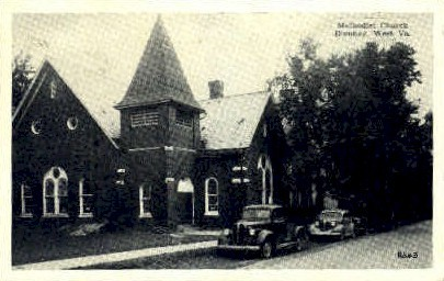 Methodist Church - Romney, West Virginia WV Postcard