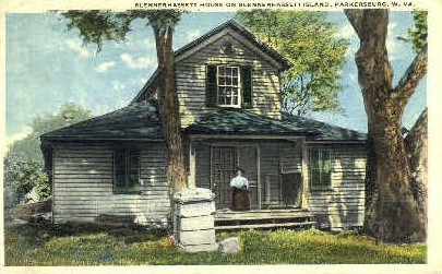 Blennerhassett House - Parkersburg, West Virginia WV Postcard
