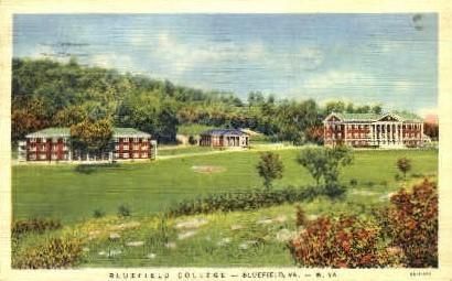 Bluefield College - West Virginia WV Postcard