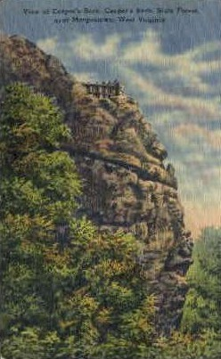 Cooper's Rock State Forest  - Morgantown, West Virginia WV Postcard