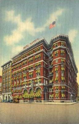 Hotel Ruffner - Charleston, West Virginia WV Postcard