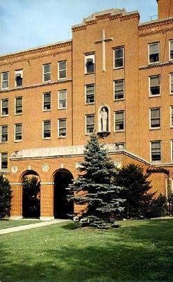 St. Mary's Hospital  - Clarksburg, West Virginia WV Postcard