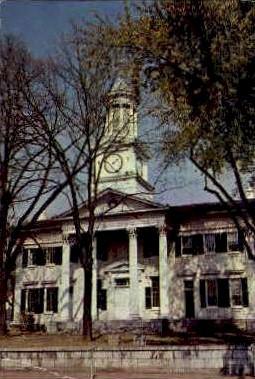 McMurran Hall - MIsc, West Virginia WV Postcard