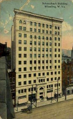 Schmulbach Building - Wheeling, West Virginia WV Postcard