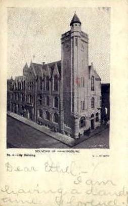 Building - Parkersburg, West Virginia WV Postcard