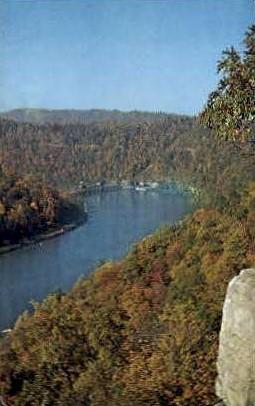 New River Gorge - Hawk's Nest State Park, West Virginia WV Postcard
