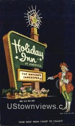 Holiday Inn - Parkersburg, West Virginia WV Postcard