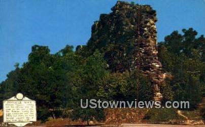 Pinnacle Rock - Bluefield, West Virginia WV Postcard