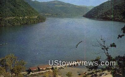 Bluestone Reservoir - Summers County, West Virginia WV Postcard