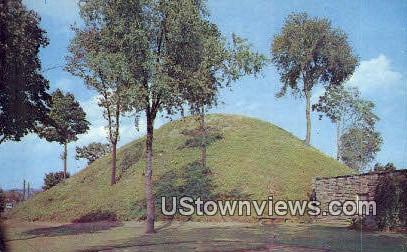 Grave Creek Mound - Moundsville, West Virginia WV Postcard
