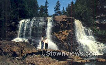 Blackwater Falls, State Park - Davis, West Virginia WV Postcard