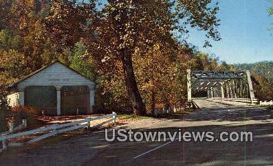 Cheat Bridge - MIsc, West Virginia WV Postcard