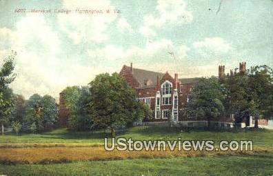 Marshall College - Huntington, West Virginia WV Postcard