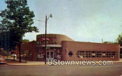Greyhound Bus Station - Huntington, West Virginia WV Postcard