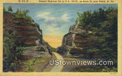 Welch, West Virginia,     ;     Welch, WV Postcard