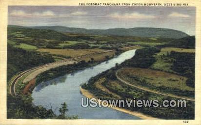 Potomac - Capon Mountain, West Virginia WV Postcard
