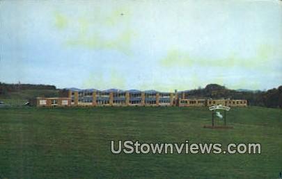 Philip Barbour High School - Barbourville, West Virginia WV Postcard