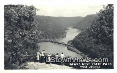 Real Photo - Hawk's Nest State Park, West Virginia WV Postcard