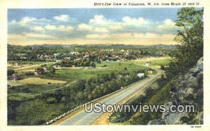 Princeton, WV,     ;     Princeton, West Virginia Postcard