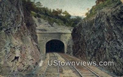 West Portal, Alleghany Tunnel - Tuckahoe, West Virginia WV Postcard