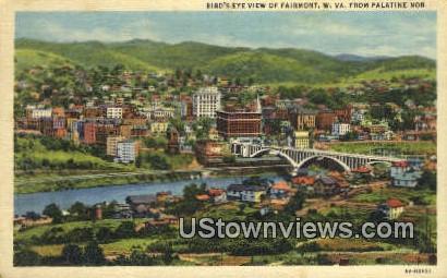 Palatine Nb - Fairmont, West Virginia WV Postcard