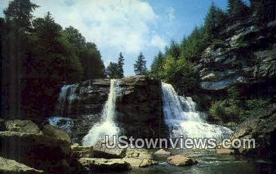 Blackwater Falls - Blackwater Falls State Park, West Virginia WV Postcard
