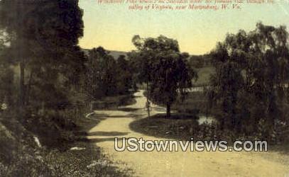 Phil Sheridan, Valley of Virginia - Martinsburg, West Virginia WV Postcard