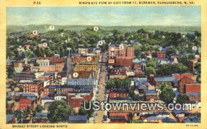 Ft Boreman - Parkersburg, West Virginia WV Postcard