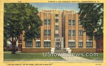 Camden Clark Memorial Hospital - Parkersburg, West Virginia WV Postcard