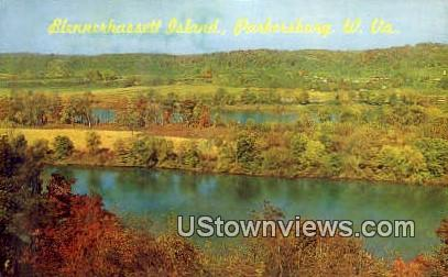 Blennerhassett Island - Parkersburg, West Virginia WV Postcard