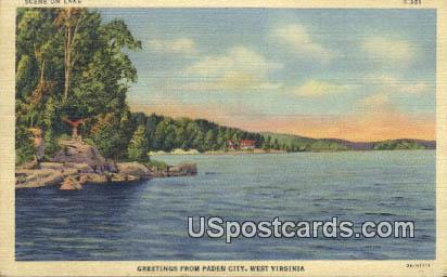 Paden City, WV Postcard      ;      Paden City, West Virginia
