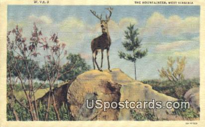 The Mountaineer - MIsc, West Virginia WV Postcard
