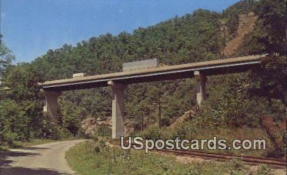 West Virginia Turnpike - Princeton Postcard