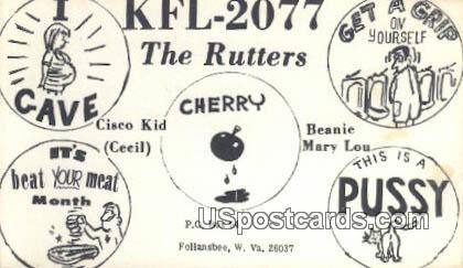 The Rutteres - Follansbee, West Virginia WV Postcard