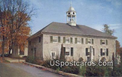 Old Stone Church - MIsc, West Virginia WV Postcard