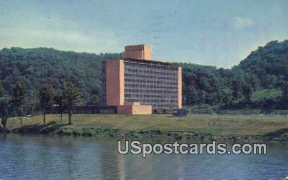 United Fuel Gas CO & Affiliates Building - Charleston, West Virginia WV Postcard