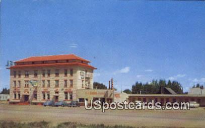 Virginian Hotel & Motel - Medicine Bow, West Virginia WV Postcard
