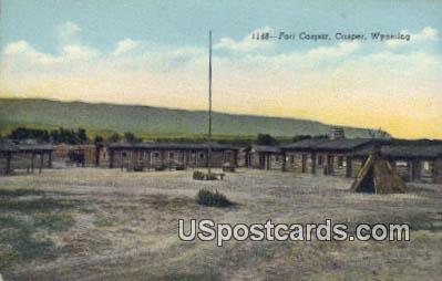 Fort Caspar - Casper, West Virginia WV Postcard